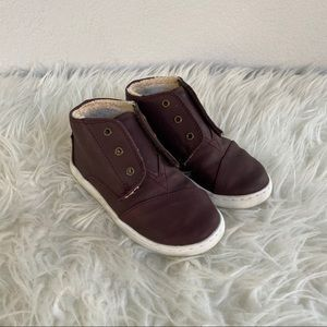 Toms Faux Fur Lined Chukka Boot